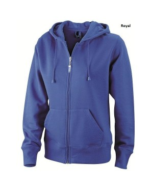 "Naiste pusa kapuutsiga ""Ladies Hooded Jacket"" 320 g/m2"