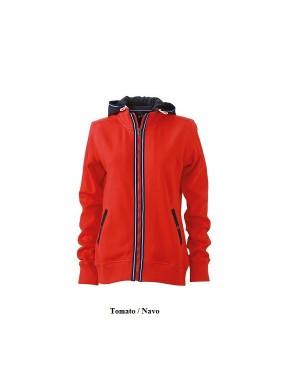 """Naiste pusa eemaldatava kapuutsiga """"Ladies Hooded Jacket"""" 310 g/m2"""