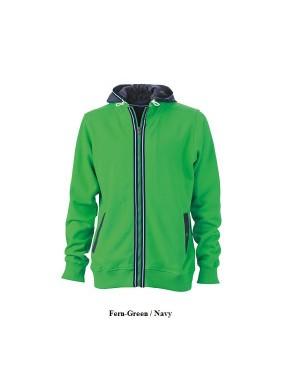 """Meeste pusa eemaldatava kapuutsiga """"Men`s Hooded Jacket"""" 310 g/m2"""