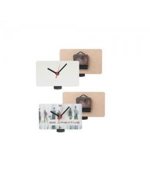 """Seina-lauakell """"Be Time A"""", 9,5 x 16 cm, oma kujundusega, trükk hinna sees!"""