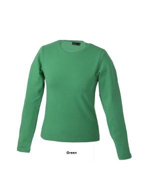 """Naiste T-särk pikkade varrukatega """"Tangy-T Longsleeve"""" 200 g/m2, puuvill-elastaan"""