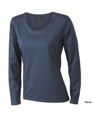 "Naiste T-särk pikkade varrukatega ""Ladies` Longsleeve Medium"" 150 g/m2, puuvill"