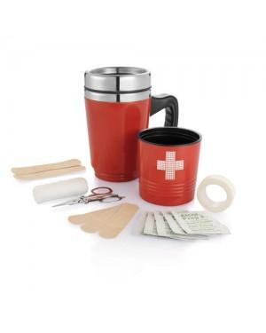 """Termoskruus-esmaabi komplekt """"First aid coffee nug"""" 350 ml"""