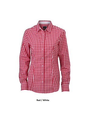 "Naiste õhuke triiksärk ""Ladies Checked Shirt"" 100 g/m2"