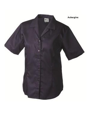 """Naiste triikimist mittevajav pluus lühikeste varrukatega """"Ladies` Business Blouse Shortsleeve"""" 120 g/m2"""