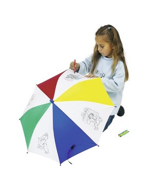 """Laste värvitav vihmavari """"Artist"""" Ø 69 cm"""